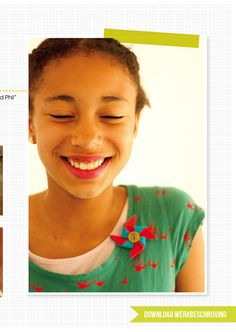 DIY pinwheel broche in MoodKids Magazine