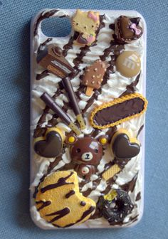 I love this! Death by Chocolate Custom Order cell phone case! by DeathByDeco, $28.00 on estsy. YUM!