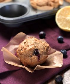 Homemade Whole Wheat Blueberry Muffins - Live Simply