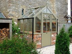 If you're who wish to add a conservatory green-house for your house, this article provides you tons of stimulating inspirations concerning how to usher in type. Homemade Greenhouse, Outdoor Greenhouse, Best Greenhouse, Portable Greenhouse, Greenhouse Plans, Rustic Greenhouses, Greenhouse Interiors, British Garden, Home Landscaping