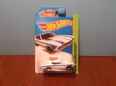 Hot Wheels '69 Chevelle SS 396 #231 Muscle Mania 2015 White 1969 Chevrolet…