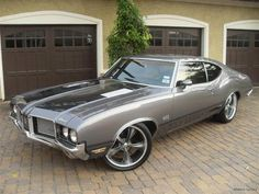 Oldsmobile 442 @Synthia Van Sweete #synvansweete