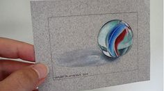 Learn how to draw a photorealistic marble-and lots of techniques for using Prismacolor colored pencils