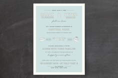 Fell in Love Wedding Invitations by The Social Type at minted.com