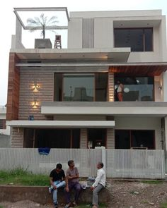 House Outer Design, Modern Small House Design, House Outside Design, Modern Exterior House Designs, Modern House Facades, Latest House Designs, House Front Design, Modern Architecture House, 3 Storey House Design