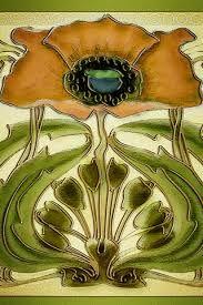 Bildergebnis für art nouveau tiles