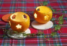 MENTŐÖTLET - kreáció, újrahasznosítás: Narancsos karácsonyi dekorációk Pumpkin Carving, Dinner Recipes, Merry, Ice Cream, Pudding, Diy Crafts, Candles, Orange, Fruit