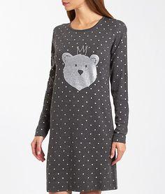 Nightdress - KING BEAR - GREY - Etam Best Lingerie 317e7863d17