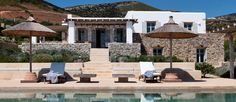 The property of the day is Achantus. This is a marvelous summer residence bearing a typical Cycladic style and located in the area of Maganies, where the characteristic squared architecture and the pristine white surfaces standout amongst the vivacious garden of lavender, rosemary and other Mediterranean vegetation. Read more.. http://www.parosluxuryvillas.com/our-villas/achantus