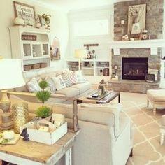 Farmhouse Fall Decor Ideas For Family Room 18