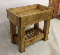 Vintage Rustic Baby Changing Station Unit Changer by breuhaus