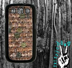 Pennies Samsung Galaxy S3 Cell Phone Case Cover by Skizzzledawg, $18.99
