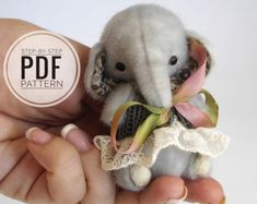 Artist teddy bear PDF pattern, miniature polar bear tutorials - 4 inches stuffed toy Flocke. Have you ever wanted to learn how to make a teddy bear but had no idea where to begin? Just try to create your own teddy bear by my professional artist patterns, sewing kits and step-by-step tutorials. Now you have lots of great opportunities to develop you sewing skills and create your special teddy bears by your own hands! Buying this workshop you will get a PDF file, that consists of: - artist…