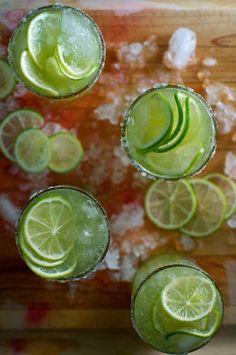 Cucumber Mezcal Margarita Recipe | ¡HOLA! JALAPEÑO