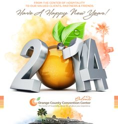 The Orange County Convention center needed an eye catching E-Blast to ring in the new year. We were given creative freedom to create a message and visual that wished all their clients, partners and friends a happy new year. #evokad  http://www.occc.net