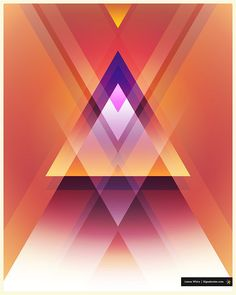 Triangles by James Whíte, via Flickr