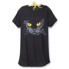 Black Cat Nightshirt