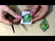 Shibori ribbon tutorial - DIY orecchino o ciondolo con seta shibori ribbon tutorial fai da te embroidery parte 2 - YouTube