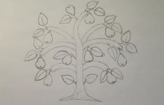схема\ scheme  ВЫШИВКА: ДЕРЕВО ГРУША\ STUMPWORK PEAR-TREE - https://www.youtube.com/watch?v=K4THRhB-OEs