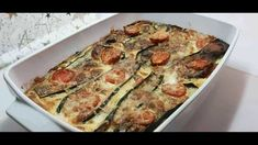 Quiche, Zucchini, Food And Drink, Vegetables, Mozzarella, Breakfast, Food Ideas, Youtube