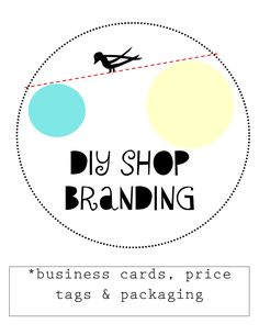Branding Your Etsy Shop – DIY Business Cards, Price Tags, and Packaging | vintanthromodern vintage