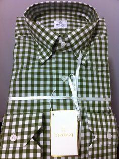 NWT$475 TRUZZI Milano Hand Made luxury beautiful dress casual Shirt ,M/50/40US  #TRUZZI #ButtonFrontluxurydresscasual