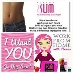 Plexus products work!!  www.plexusslim.com/jackiehart #home business #weightloss