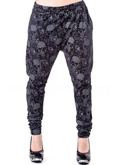 Queen of Darkness Skulls Chino Trousers