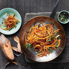 Sweet Potato Fettuccine - Quick and Easy 5-Ingredient Dinner Recipes - Southern Living