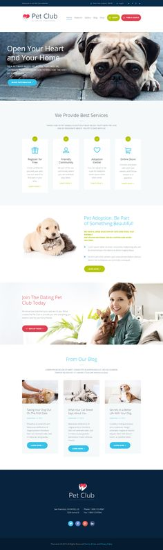 Pet Club is Premium full Responsive Retina #WordPress #Pet Theme. WooCommerce. #BuddyPress. Visual Composer. Google Map. Test free demo at: http://www.responsivemiracle.com/pet-club-premium-responsive-adoption-dating-community-wordpress-theme/