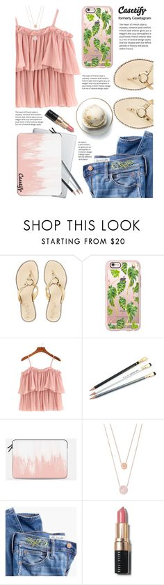 """""""Casetify 10"""" by yexyka ❤ liked on Polyvore featuring Lilly Pulitzer, Casetify, Disney, Michael Kors, Madewell, Bobbi Brown Cosmetics and modern"""
