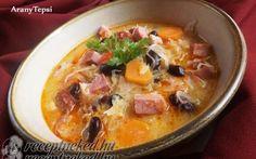 Ezeket a leveseket főztétek meg a legtöbben az elmúlt 3 évben! Hungarian Recipes, Hungarian Food, Cheeseburger Chowder, Thai Red Curry, Cooking, Ethnic Recipes, Soups, Kitchen, Hungarian Cuisine
