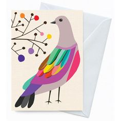 Greeting Card – Brush Bronzewing from inaluxe