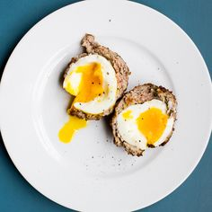 Soft-Boiled Scotch Eggs   Food & Wine