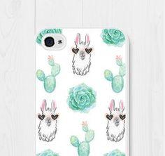 Llama Phone Case iPhone 6 Case Cactus iPhone 7 Case Cactus