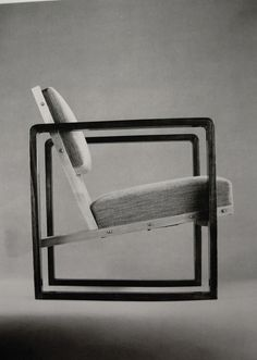 Bauhaus chair by Josef Albers