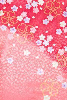 着物 No:748 商品名:ピンク 桜しぼり