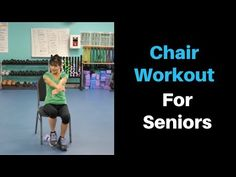 These seated chair exercises for seniors are a perfect low impact way to work out whether youre stuck sitting at a desk or simply not comfortable doing a standing workout today. Chair Exercises, Aerobic Exercises, Workouts, Chair Yoga, Bones And Muscles, Senior Fitness, Flexibility Workout, Muscle Tone, Muscle Groups