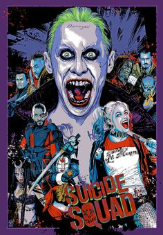 """kogaionon: """" Suicide Squad by Vance Kelly / Blog / Twitter / Instagram / Store Exclusively available in the latest issue of  Empire Magazine Australasia. """""""