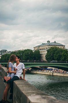 Beso con vistas :)) #Fuegodevida  #FuegodevidaBesos