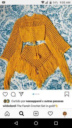 Crochet Art, Crochet Woman, Crochet Designs, Crochet Patterns, Parte Superior Del Bikini, Summer Knitting, Dress Sewing Patterns, Crochet Clothes, Crochet Projects