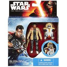 Star Wars Episode VII Armor Series 1 - Finn (Starkiller Base) Figure by Disney/Hasbro