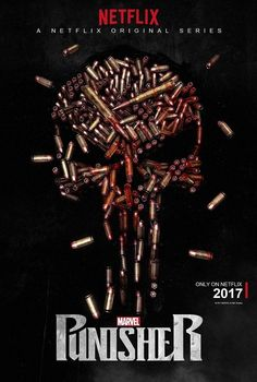 Second trailer is now below for the Netflix Marvel show 'The Punisher'. It stars Jon Bernthal as the Punisher with Ben Barnes, Ebon Moss-. Punisher Marvel, Logo Punisher, The Punisher 2017, Punisher Tattoo, Punisher Netflix, Punisher Skull, Marvel Dc Comics, Netflix Marvel, Poster Marvel