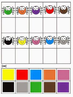 Coloring Games for Preschool Best Of Free Printable Matching Games Color Matching Activity Preschool Colors, Preschool Centers, Preschool Learning Activities, Color Activities, Toddler Learning, Toddler Activities, Preschool Activities, Teaching Kids, Preschool Alphabet