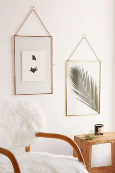Glass Hanging Display Frame | Pinterest: heymercedes
