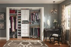 want my closets to look like this and lined in cedar..