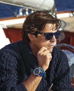 Nacho Figueras for Ralph Lauren- nautical style Sharp Dressed Man, Well Dressed, Stylish Men, Men Casual, Nautical Fashion, Nautical Style, Nautical Trends, Nautical Anchor, Ralph Lauren