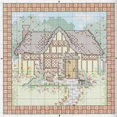 Schema punto croce Casas 06