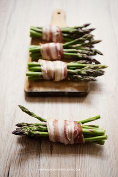 Szparagi pieczone – w kopercie z ciasta francuskiego   Karo in the Kitchen
