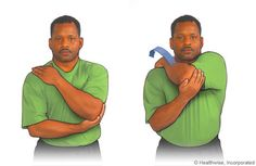 Rotator cuff - Posterior stretching exercise
